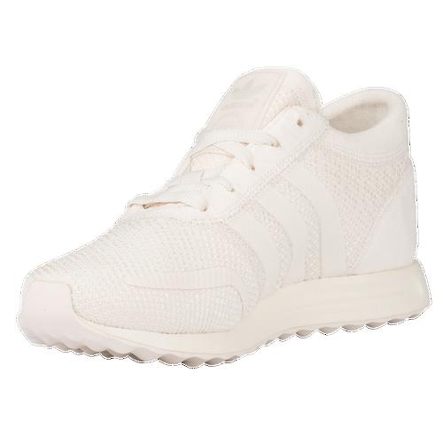 adidas Originals Los Angeles - Women's - Casual - Shoes - Chalk White/Chalk  White/Chalk White