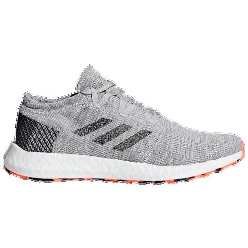 adidas Pureboost Go - Men s - Running - Shoes - Grey Two Core Black Hi-Res  Orange f5e4003f9d4ec