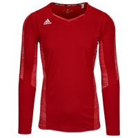 adidas Team Quickset Long Sleeve Jersey - Women's - Red