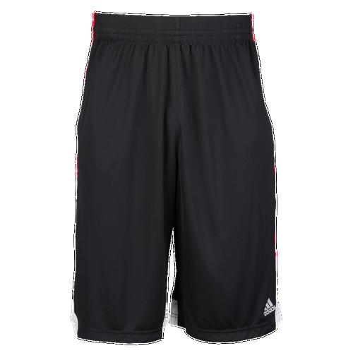 adidas 3G Speed 2.0 Shorts - Men's Basketball - Black/Scarlet/White AH6434