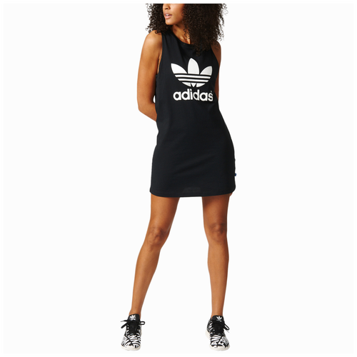 719fdd4cac452 adidas Originals Trefoil Tank Dress - Women s - Clothing