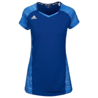 adidas Quickset Cap Sleeve Jersey - Women's - Blue