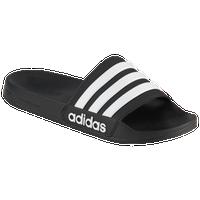 on sale d817d fbe9e adidas Adilette CF - Mens - Black  White