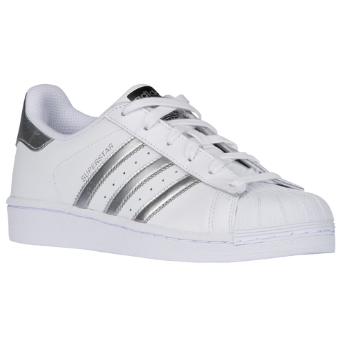 adidas superstar le scarpe casual originali bianca / onix