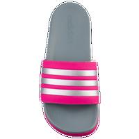 5a78ed46e9d5 adidas Adilette - Boys  Grade School - Pink   Silver