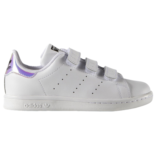 the best attitude 70611 5d52d adidas Originals Stan Smith - Girls u0027 Preschool - White   Silver
