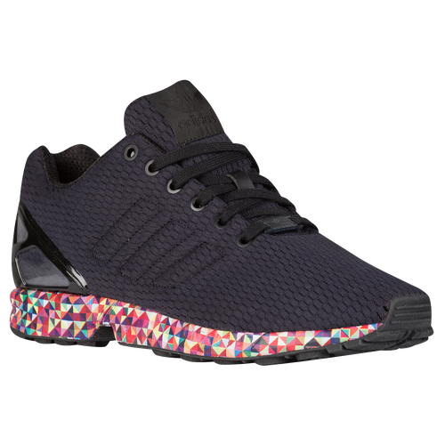 adidas Originals ZX Flux - Men\u0027s - Running - Shoes - Black/Black/Dark Solid  Grey