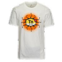 f736c3aa Nike Graphic T-Shirt - Men's - White / Orange
