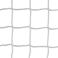 Kwik Goal Soccer Replacement net 4mm Rope 120mm Mesh - White