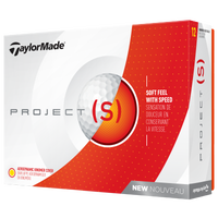 TaylorMade Project (s) Golf Balls - White