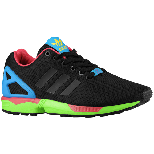 6be123d9d adidas Originals ZX Flux - Men s - Running - Shoes - Black Black Solar Green