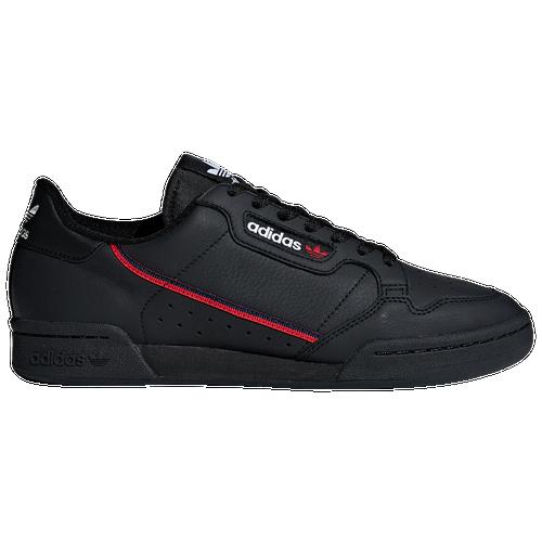 adidas Originals Continental 80 - Men s - Casual - Shoes -  Black Scarlet Collegiate Navy 83d6d54f47a5