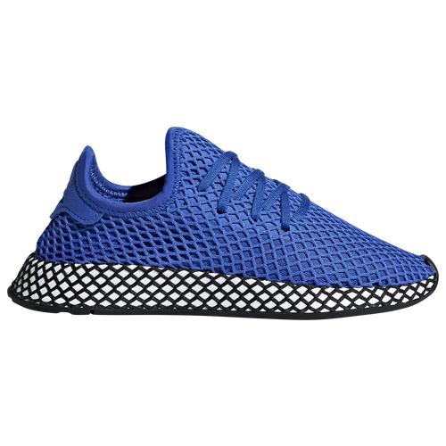 8e7a038375106 adidas Originals Deerupt Runner - Boys  Grade School - Casual - Shoes - Hi  Res Blue Hi Res Blue White