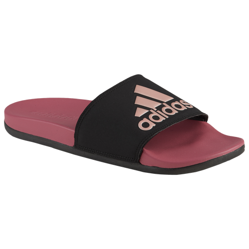 detailed pictures 1423d 22a68 adidas Adilette CF Plus - Womens - Casual - Shoes - BlackShock PinkWhite   Graphic