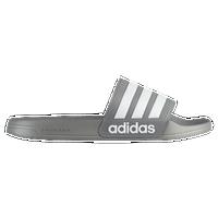 adidas Adilette CF - Men's - Grey / White