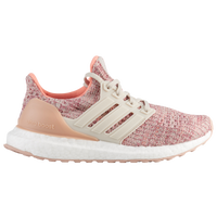 adidas Ultraboost - Boys' Grade School - Tan / Maroon