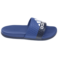 adidas Adilette Slide - Boys' Grade School - Blue / Navy