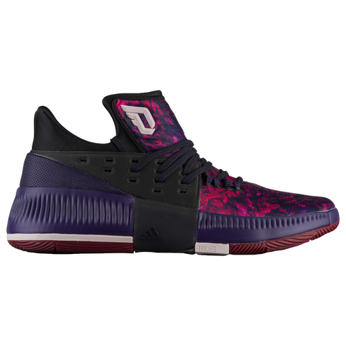 adidas basketball shoes damian lillard. adidas dame 3 - men\u0027s basketball shoes lillard, damian black/purple/burgundy lillard