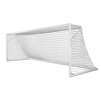 Kwik Goal Soccer Replacement Net 3mm Rope 120mm Mesh - White