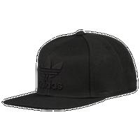 c8f7697a548 adidas Originals Trefoil Chain Snapback - Men s - All Black   Black
