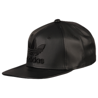 42dd090ef47 adidas Originals Trefoil Plus Snapback - Men s - All Black   Black
