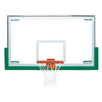 Bison Standard Glass Short Backboard