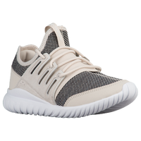 adidas Originals Tubular Radial - Boys' Grade School - Off-White / Black