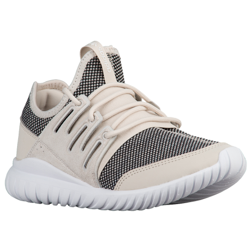 adidas Originals Tubular Radial - Boys' Grade School - adidas Originals - Casual - Solid Grey/Solid Grey/Vintage White