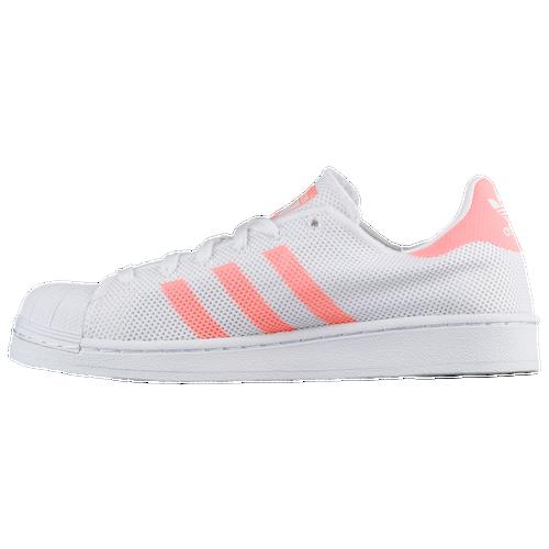adidas Originals Superstar - Women\u0027s - Basketball - Shoes - White/Sun Glow /White