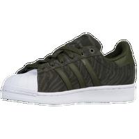 675bf75dd61658 adidas Originals Superstar - Boys  Preschool - Dark Green   Olive Green