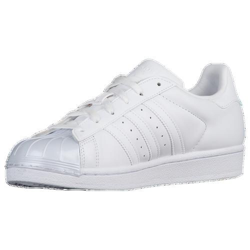 adidas Originals Superstar - Women's - Casual - Shoes - White/White/Core  Black