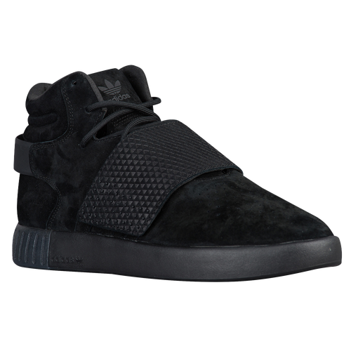 adidas Originals Men Tubular Invader Strap - Black/Black/Black