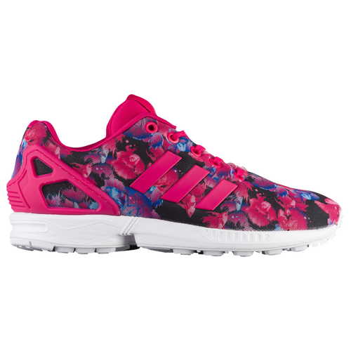 adidas Originals ZX Flux - Girls\u0027 Grade School - Pink / White