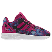 adidas shoes for girls black. adidas originals zx flux - girls\u0027 toddler pink / black shoes for girls
