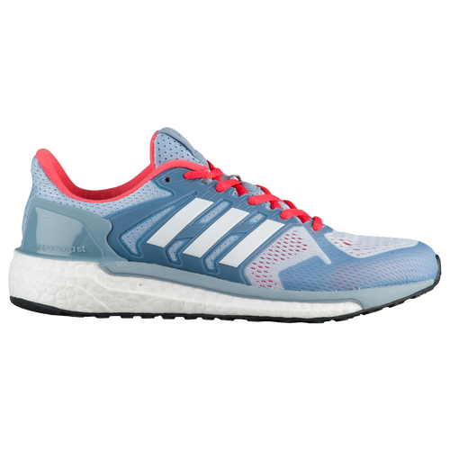 adidas Supernova ST - Women's - Running - Shoes - Easy Blue/White/Easy Coral