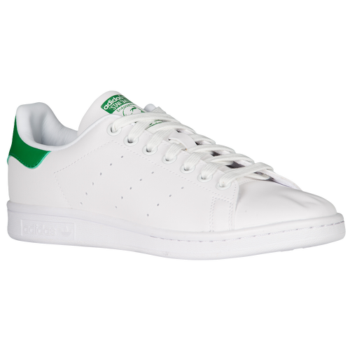 adidas Originals Stan Smith - Women\u0027s - Casual - Shoes - White/White/Green