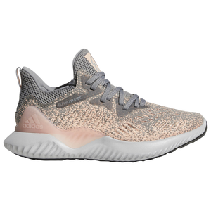 adidas Alphabounce Beyond - Girls' Grade School - Grey Three/Grey Two/Clear Orange