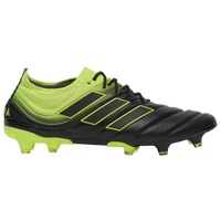 adidas Copa 19.1 FG - Men's - Black / Yellow