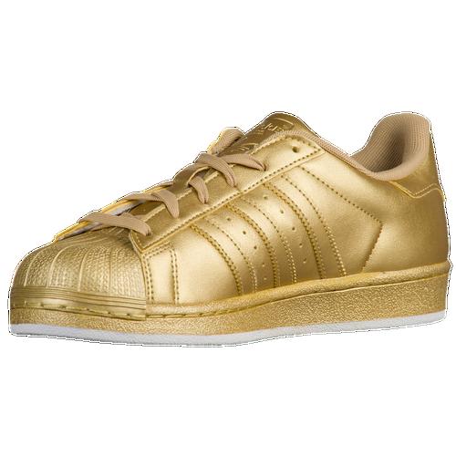 adidas Originals Superstar - Women\u0027s - Basketball - Shoes - Gold Metallic/ Gold Metallic