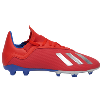 adidas X 18.3 FG - Boys' Grade School - Red