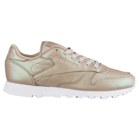 d6d8dad58a7719 Reebok Classic Leather - Women s - Running - Shoes - Silver Metallic ...