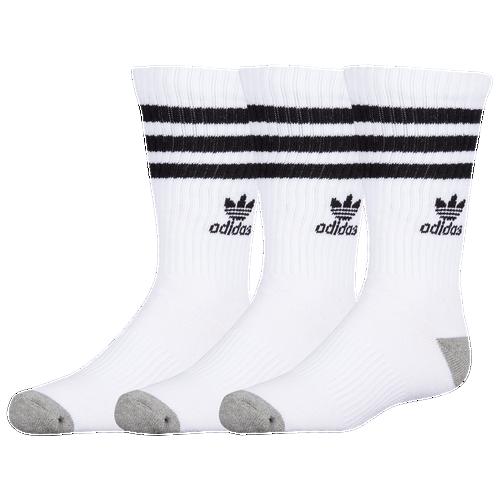 be6cc8f987fe1 adidas Originals Roller 3-Pack Crew Socks - Boys' Grade School