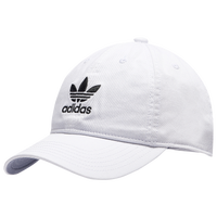 adidas Originals Relaxed Strapback Hat - Women's - White / Black