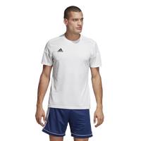 adidas Team Squadra 17 Short Sleeve Jersey - Men's - All White / White
