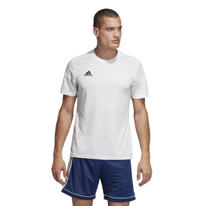 adidas Team Squadra 17 Short Sleeve Jersey - Men's - White/White