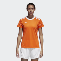 adidas Team Squadra 17 Short Sleeve Jersey - Women's - Orange / White