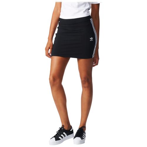 adidas Originals 3-Stripes Skirt - Women's - Casual - Clothing - Black/White