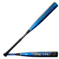 Louisville Slugger Meta BBCOR Bat - Men's - Black / Blue