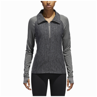 adidas Team Performer Baseline 1/4 Zip - Women's - Grey / Grey