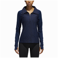 adidas Team Performer Baseline 1/4 Zip - Women's - Navy / Navy